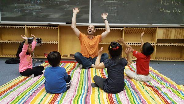 Raphael Teaching Movement and Music